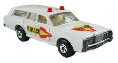 #diecast #Matchbox Superfast 55B Mercury Police Car new or updated at www.diecastplus.info