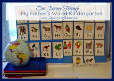 So you got your My Father's World Kindergarten Curriculum, now you need to organize it! Let me show you how to organize My Father's World Kindergarten curriculum. Kindergarten Homeschool Curriculum, Kindergarten Readiness, My Father's World, Preschool At Home, Journey, Home Schooling, Kids Learning, Learning Tools, Blog