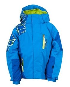 Spyder Boy s Mini Challenger Winter Jacket - Collegiate Blue Patagonia Ski  Jacket 1e852405c