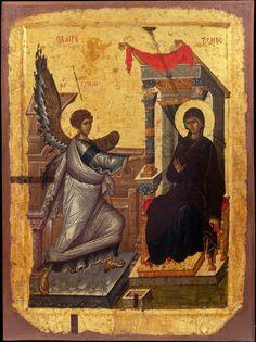 Annunciation, beginning of 14th c
