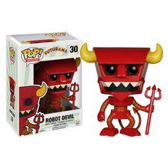 Futurama Robot Devil Pop! Vinyl Figure - Funko - Futurama - Pop! Vinyl Figures at Entertainment Earth