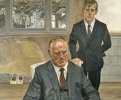 Lucian Freud, Two Irishmen in W11
