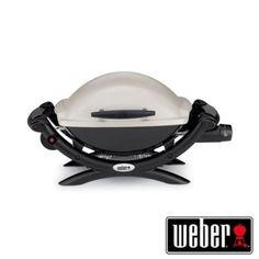 Barbecue Weber Q 1000 a gas portatile.