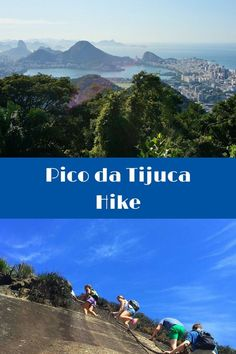 Pico da Tijuca Hike in Rio de Janeiro - Brazil. Many people find their way to the top of sugarloaf mountain or the Christ the Redeemer statue during their visit to Rio, but for more stunning views of the area, don't miss the Pico Da Tijuca hike. Click to find out more! @Venturists