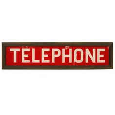 Chic Industrial Style Collection at Telephone Booth, Vintage Telephone, Vintage Metal Signs, Los Angeles California, Red Glass, Industrial Style, Art Decor, Retro, Antiques