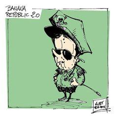 La Repubblica delle banane... #IoSeguoItalianComics #Satira #Politica #Comics #Humor #Italy #Renzi #Repubblica #Banane