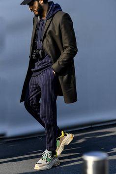 7a2f32dcbcf0 Milan Men s Fashion Week AW18  best street style