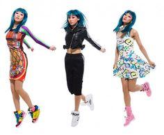 Mademoiselle Yulia for Jeremy Scott Adidas Originals