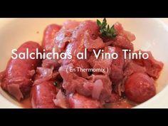 Salchichas al Vino con Thermomix - Recetas de Cocina
