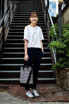 On the street... Eunji Cho Busan | echeveau