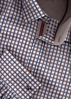 enzone french cuff shirt - French Shirt - Ideas of French Shirt - enzone french cuff shirt Formal Shirts, Casual Shirts For Men, Men Casual, Casual Clothes, Fashion Mode, Mens Fashion, Gents Shirts, French Cuff Dress Shirts, French Cuff Shirt Men
