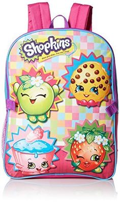 Shopkins Girls' Backpack with Lunch Kit. #Shopkins #Girls' #Backpack #with #Lunch