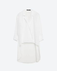Image 8 of ASYMMETRIC CROSSOVER BLOUSE from Zara