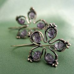 Etsy :: ashleyhope :: Flower earrings from etsy.com