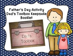 Are you looking for a fun Father's Day activity for your class? If so, then look no further! Your students will love making these adorable toolbox booklets for their dads! These booklets will be keepsakes that your student's dads will cherish and your students will be so proud to present to them.
