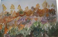 Talamanca II, #Watercolour Si estas interesado en esta obra, ponte en contacto con nosotros en contacto@cincuentopia.com  http://cincuentopia.com