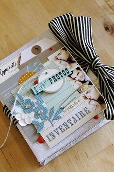 #papercraft #scrapbook #minialbum  BABY By Celine Navarro