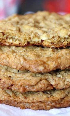 Crispy Chewy Oatmeal