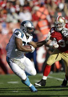 Week 10~from Carolina Panthers~Panthers' big win over San Francisco!