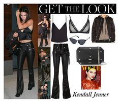 """Kendall Jenner With Travis Scott In New York City September 13, 2016"" by valenlss ❤ liked on Polyvore featuring Unravel, Anine Bing and Givenchy"