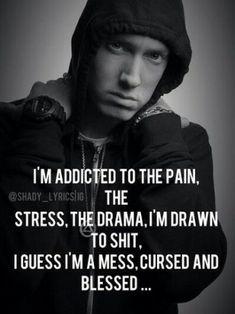 61 ideas quotes lyrics eminem ems for 2019 Eminem Memes, Eminem Lyrics, Eminem Rap, Eminem Quotes, Rapper Quotes, Rap Lyrics, Song Lyric Quotes, Rap Songs, Music Quotes