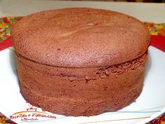 Pão de ló de chocolate - cacau