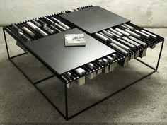 Nar Coffee Table - http://www.differentdesign.it/2014/01/24/nar-coffee-table/