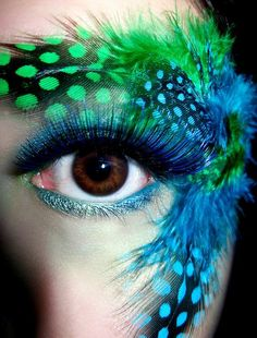 Zebra Eye Makeup | Perfecctly: pretty eye make-up *___*