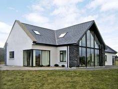 Dormer Bungalow House Plans Detached For 8 To 10 In Glenbeigh A British Holiday Cottage Dormer House, Dormer Bungalow, House Designs Ireland, Architecture Durable, Bungalow House Design, Bungalow Designs, Modern Bungalow Exterior, Bungalow Homes, Modern Bungalow House Plans