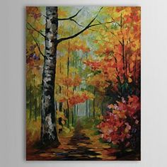 Hand Painted Oil Painting Landscape 1303-LS240 - WallArtBox