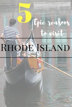 It may be the smallest of all 50 states across the United States, but Rhode Island certainly packs a punch when it comes to an abundance of reasons why you should want to visit this gorgeous state. If you are thinking about taking a trip to North-East USA, why not take some time to visit Rhode Island and experience everything the 'Ocean State' has to offer.