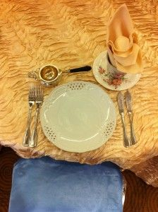 Table setting for a baby shower #JSE www.jansimusevents.com