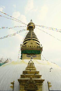 Swayambunath Stupa-Kathmandu   #nepal #kathmandu