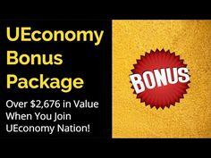UEconomy Bonuses - Get $2,676 Worth of Valuable Bonuses by Joining Jeff Gardner in U-Economy