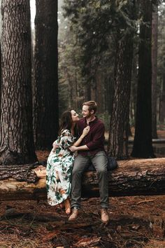 adventure engagement photo session in yosemite national park // california wedding and elopement photographer // www.abbihearne.com #Weddingsquotes