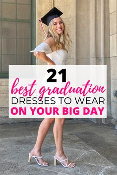 these grad dresses are so cute!! definitely timeless and not too trendy but i love all of them. can't wait to order mine Outdoor Graduation Parties, High School Graduation Gifts, Graduation Party Decor, Graduation Caption Ideas, Graduation Pictures, You Look Stunning, Looking Stunning, Graduation Cap Designs, Grad Dresses