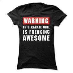 This Karate girl is freaking awesome - cheap t shirts #shirt #fashion