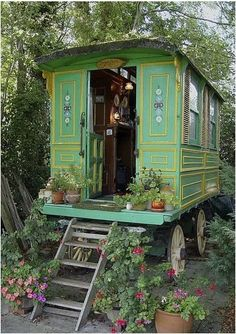 Caravan. looks like a train car, but only if you want it to. Do you like the rectangular shape better?