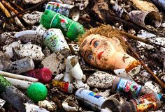 PJTV - Fantasy Island: Scientist Slashes His Estimate of Ocean's Plastic.garbage in, garbage out. Ocean Pollution, Plastic Pollution, Save The Planet, Our Planet, Pacific Trash Vortex, Great Pacific Garbage Patch, Marine Debris, Trash Art, Help The Environment