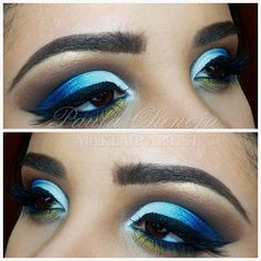 Cut Crease Blue
