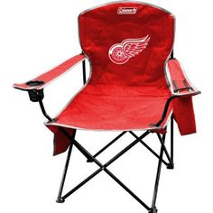 Coleman COL-09744116111 Detroit Red Wings NHL Cooler Quad Tailgate Chair – Detroit Sports Outlet