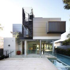 jueliana korean world: 24 Gorgeous Modern Architecture Design Ideas Fоr Inspiration Glass House Design, House Front Design, Modern House Design, Style At Home, Modern Style Homes, Modern Architecture Design, Residential Architecture, Interior Architecture, Architecture Sketches
