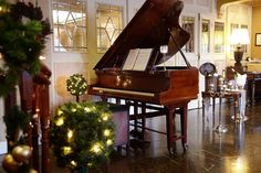 Our beautiful piano