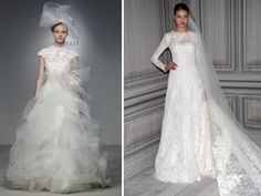 The Wedding Gown In A New Take On Classicism And Ornamentation