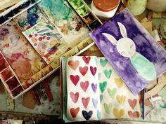 Danita Art: Getting back to work....