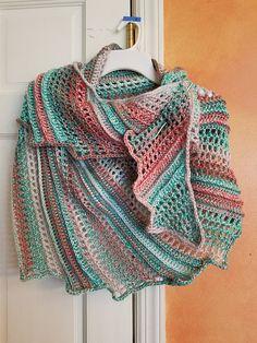 Lizard Shawl ~ free pattern ᛡ