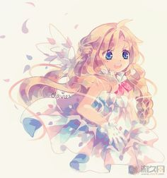 by Clavies anime angel girl