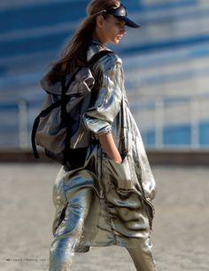 Anna Selezneva by Hans Feurer for Vogue Russia February 2014