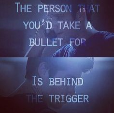 Teen wolf - the people that you would do anything for are often the ones that break you and hurt you the most