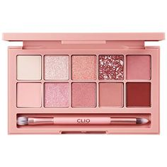 (Advertisement) CLIO Pro Layering Eye Palette Ounce x 10 01 Simply Pink Makeup Kit, Skin Makeup, Eyeshadow Makeup, Makeup Cosmetics, Makeup Stuff, Makeup Brands, Best Makeup Products, Make Up Products, Health Products